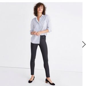 Madewell Skinny Jeans - Coated Edition